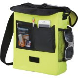 Light Green Sideways The Oasis Messenger Bag