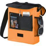 Orange Sideways The Oasis Messenger Bag