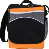Orange Front The Oasis Messenger Bag