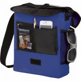 Royal Blue Sideways The Oasis Messenger Bag