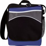 Royal Blue Front The Oasis Messenger Bag