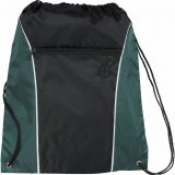 Hunter Green The Funnel Drawstring Cinch Backpack