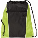 Lime Green The Funnel Drawstring Cinch Backpack