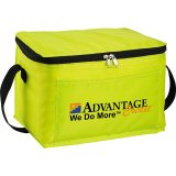 Yellow decorated The Spectrum Budget Cooler Bag - Black
