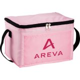 Pink decorated The Spectrum Budget Cooler Bag - Black
