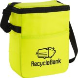 Yellow decorated The Spectrum Budget 12-Pack Lunch Cooler