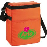 Orange decorated The Spectrum Budget 12-Pack Lunch Cooler
