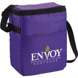 Purple decorated The Spectrum Budget 12-Pack Lunch Cooler