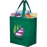 Green Printed The Liberty Heat Seal Grocery Tote