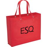 Red The Oak Tote Bag