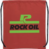 Maroon The Oriole Drawstring Cinch Backpack 02