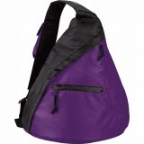 Purple The Downtown Sling Backpack
