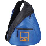 Royal Blue Printed The Downtown Sling Backpack