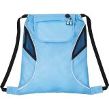 Light blue The Bumblebee Drawstring Cinch Backpack