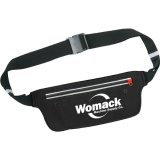 Black Solid Ranstrong Adjustable Waist Band