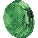 Green Safety Clip-On Reflector
