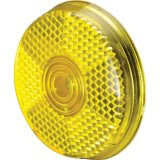 Yellow Safety Clip-On Reflector