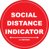 SOCIAL-DISTANCE-INDICATOR-400x400-Circular-Floor-Graphics