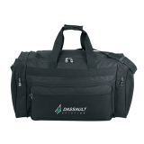 Black Deluxe Travel Bag