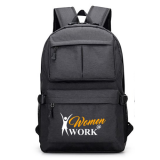 Black Venterna Backpack