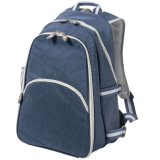Blue Trekk™ Compact Two Person Picnic Backpack