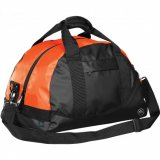 Black/Orange Mariner Waterproof Duffel