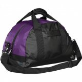 Black/Purple Mariner Waterproof Duffel