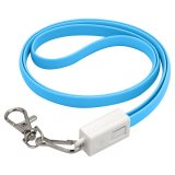 Mack Lanyard Cable Light Blue