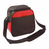 Black/Red Boutique Snap Cooler Bag