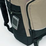 Black/Taupe PET Backpack