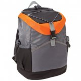 Black/Orange/Grey/Grey Sunrise Backpack Cooler