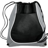 Grey Coil Cinch Backpack