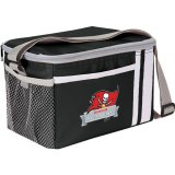 Black decorated Game Day Lunch Cooler