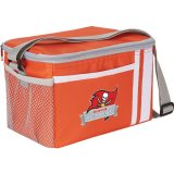 Orange decorated Game Day Lunch Cooler