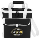 Black Printed Game Day Sports Cooler