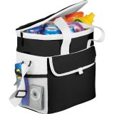 Black Filled Game Day Sports Cooler