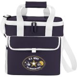 Blue Printed Game Day Sports Cooler