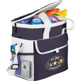 Blue Printed Sideways Game Day Sports Cooler