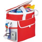 Red Filled Game Day Sports Cooler