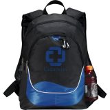 Blue Printed Explorer Backpack