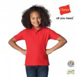 Red Junior Heavyweight Polo
