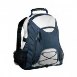 Silver/Navy Climber Backpack