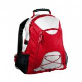 White/Red Climber Backpack