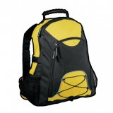 Yellow/Black Climber Backpack