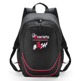Black/Red Backpack Express