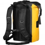 Yellow Back View Aquarius Waterproof Backpack