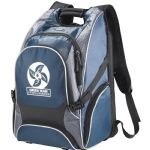 Blue Sideways Elleven Drive Compu-Backpack