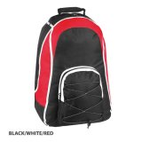 Black/White/Red Virage Backpack