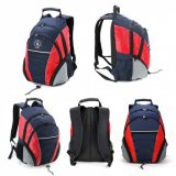 Black/Red/Grey Fraser Backpack Express