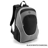 Black/White/Charcoal Gala Backpacks